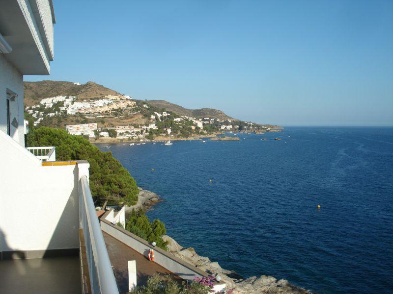 Vista do terraço Locação Apartamentos 109610 Rosas