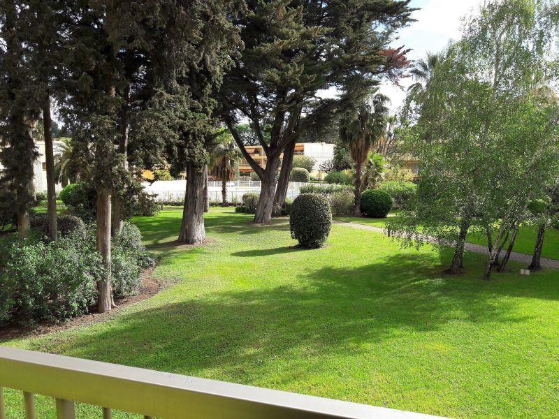 Vista do terraço Locação Apartamentos 114308 Juan les Pins