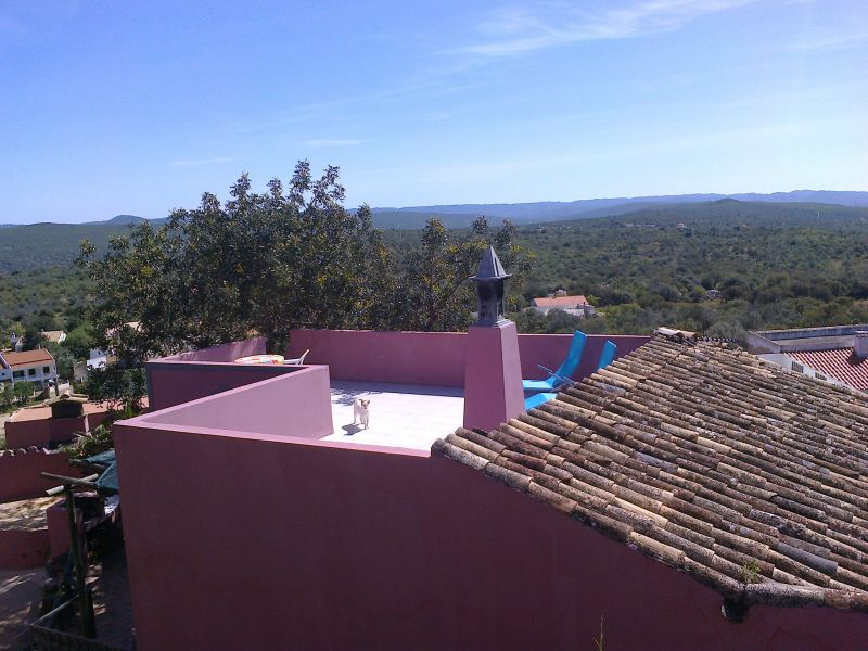 Vista do terraço Locação Casa 70393