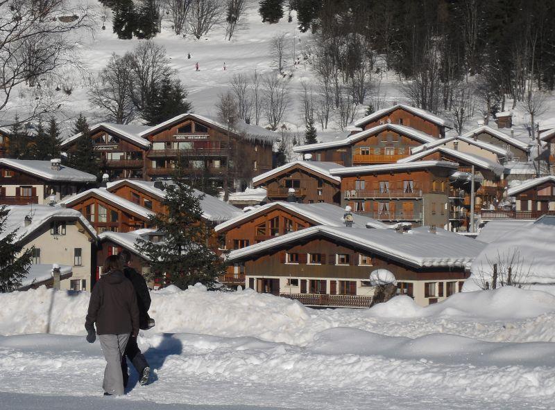 Vista dos arredores Locação Apartamentos 93265 Pralognan la Vanoise