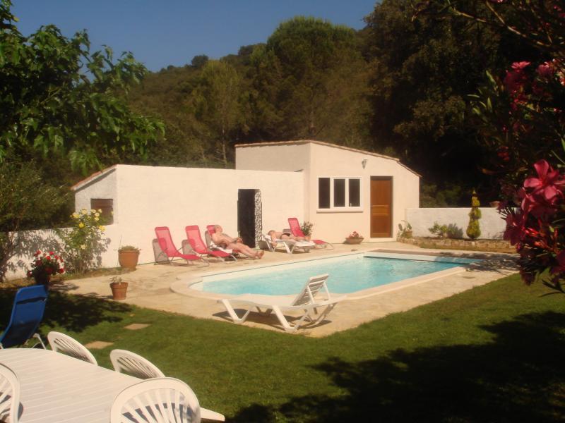 Piscina Locação Casa de turismo rural/Casa de campo 69702 Uzès