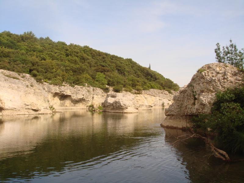 Vista dos arredores Locação Casa de turismo rural/Casa de campo 69702 Uzès
