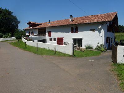 Vista exterior do alojamento Loca��o Casa de turismo rural/Casa de campo 83926 Itxassou