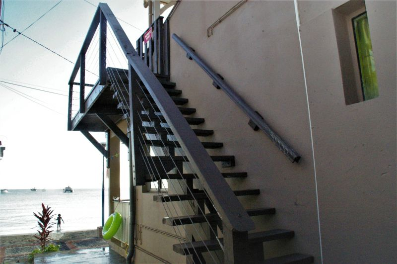 Vista desde do alojamento Locação Apartamentos 90232 Anses d'Arlet
