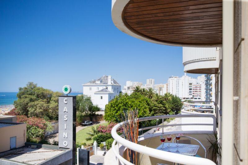 Vista do terraço Locação Apartamentos 73354 Praia da Rocha