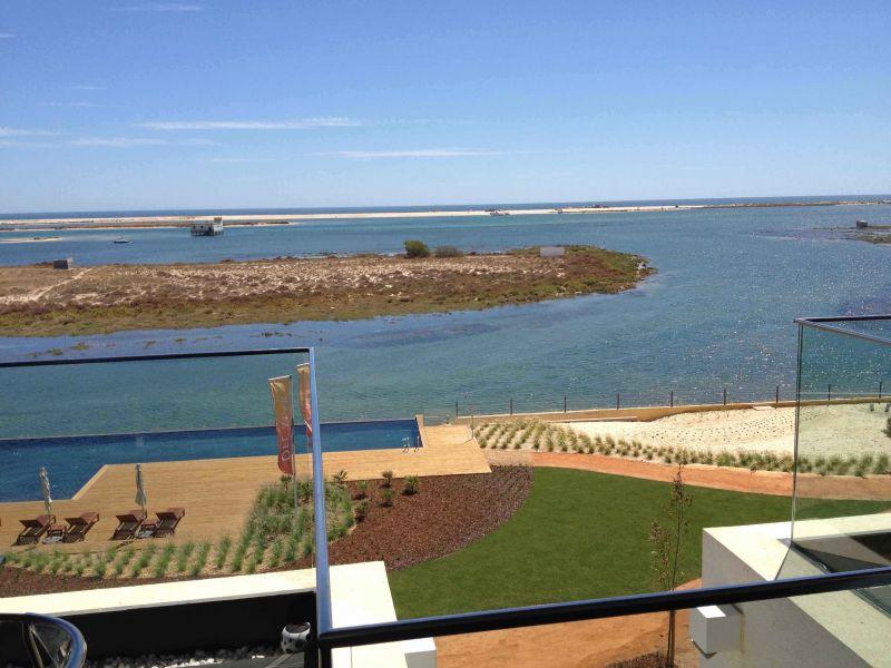 Vista do terraço Locação Apartamentos 74598 Olhão