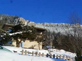 Vista exterior do alojamento Loca��o Casa 87405 Lans en Vercors