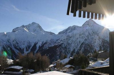 Vista do terra�o Loca��o Apartamentos 91727 Les 2 Alpes