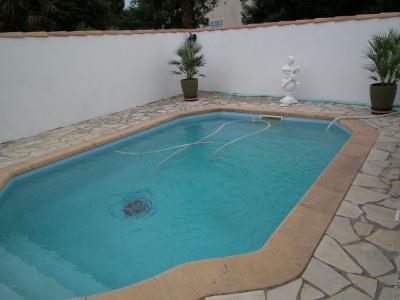 Vista do terraço Locação Casa 94630 Sérignan Praia