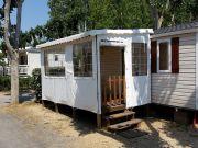 Mobil-Home Valras-Praia 4 a 6 pessoas