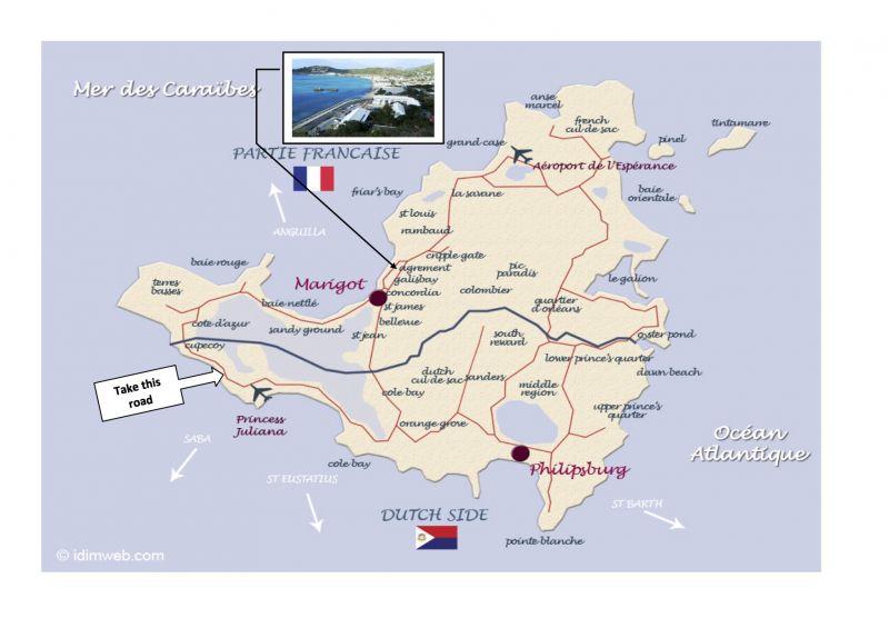 Mapa Locação Estúdio 108428 Marigot