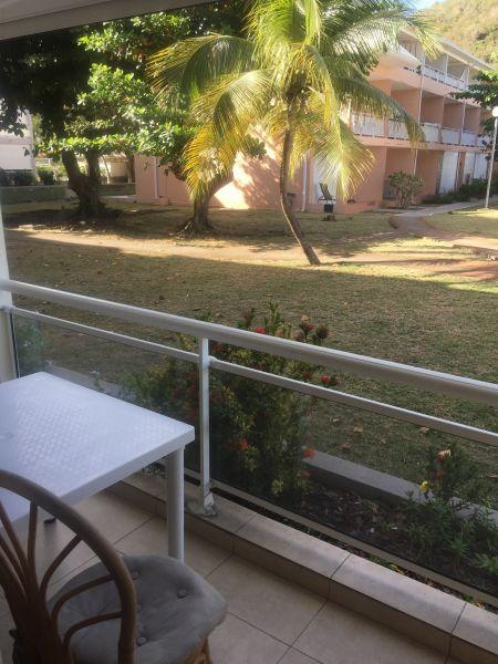vista da varanda Locação Estúdio 108428 Marigot