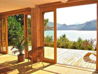 Vista desde do alojamento Locação Casa de turismo rural/Casa de campo 116875 Castellane