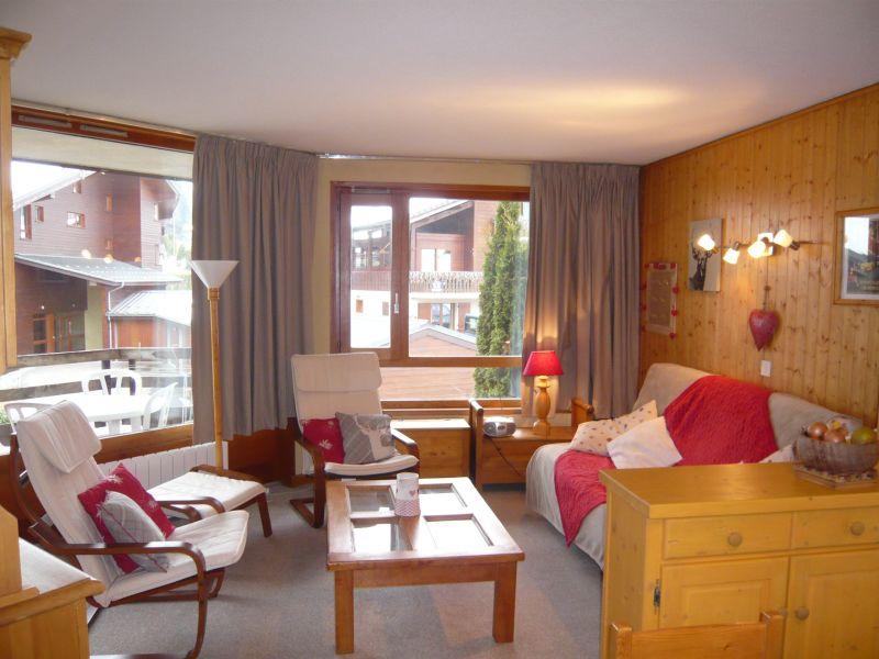 Sala de estar Locação Apartamentos 66830 Morzine