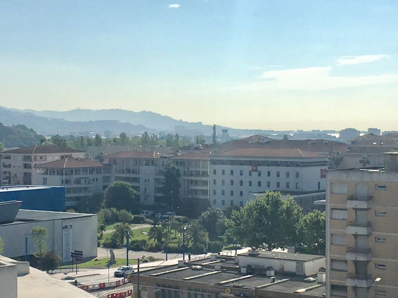 Vista do terraço Locação Estúdio 67791 Mandelieu la Napoule