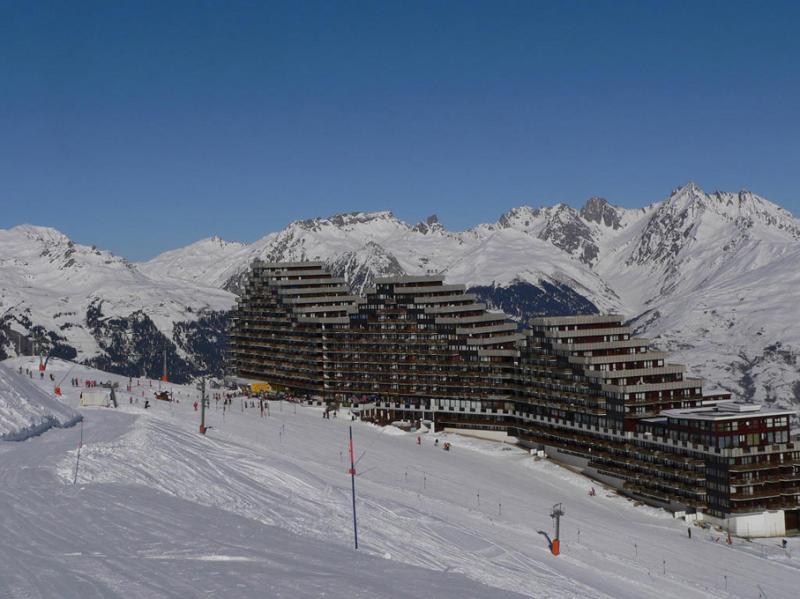 Vista dos arredores Locação Apartamentos 79745 La Plagne