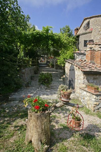 Vista do terraço Locação Casa de turismo rural/Casa de campo 80622 Gavorrano