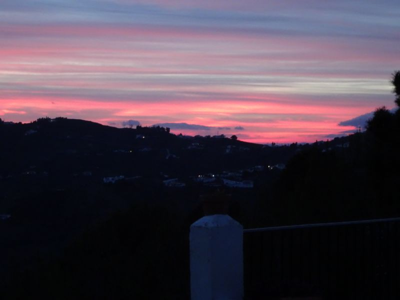 Vista do terraço Locação Vivenda 88509 Torrox