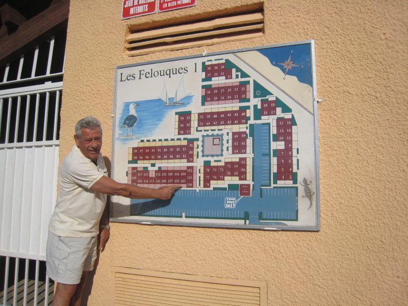 Planta do alojamento Locação Apartamentos 92705 Saint Pierre la Mer