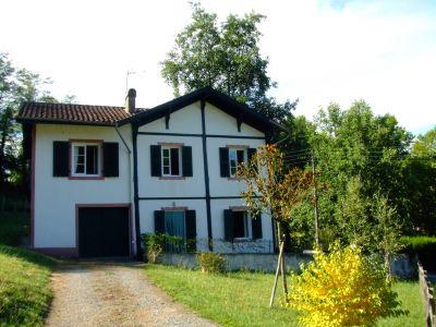Vista exterior do alojamento Loca��o Casa de turismo rural/Casa de campo 102088 Saint Jean Pied de Port
