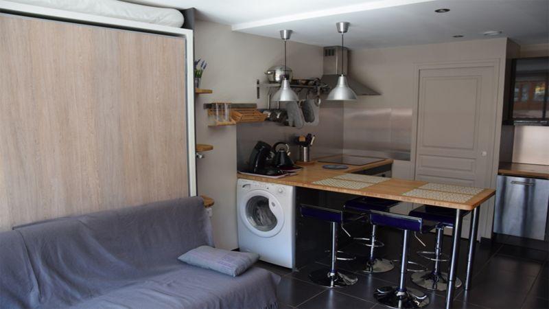 Sala de estar Locação Apartamentos 112105 Méribel