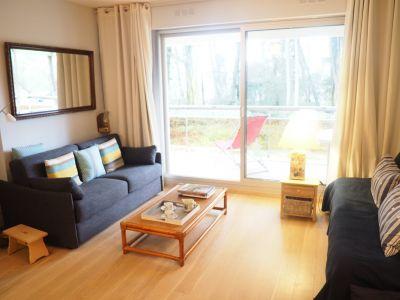 Sala de estar Locação Apartamentos 113642 Pornichet