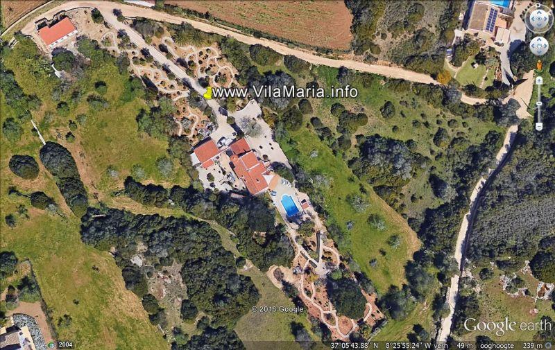 Planta do alojamento Locação Casa de turismo rural/Casa de campo 117556 Carvoeiro