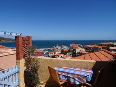 Vista do terra�o Loca��o Apartamentos 94634 Banyuls-sur-Mer