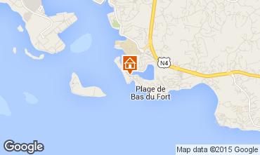 Mapa Gosier (Guadeloupe) Apartamentos 8006