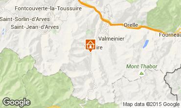 Mapa Valloire Chalé 3373