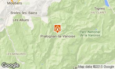 Mapa Pralognan la Vanoise Apartamentos 18251