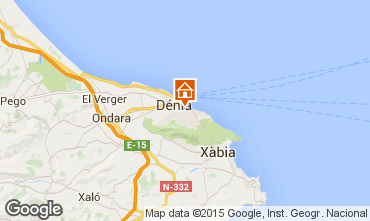 Mapa Dénia Apartamentos 71551