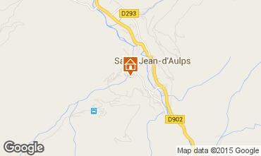 Mapa Saint Jean d'Aulps- La Grande Terche Apartamentos 85484