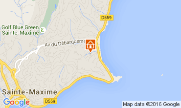 Mapa Sainte Maxime Casa 104932