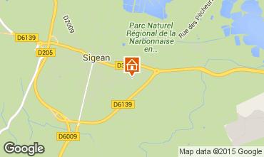 Mapa Sigean Vivenda 10522