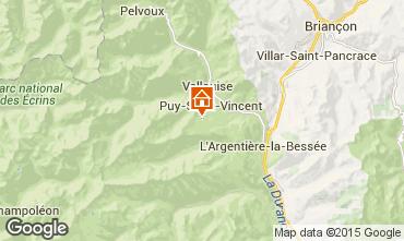 Mapa Puy Saint Vincent Apartamentos 56195