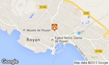 Mapa Royan Apartamentos 32273