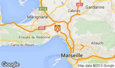 Mapa Marselha Casa de turismo rural/Casa de campo 5959