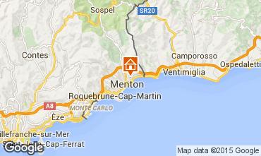 Mapa Menton Apartamentos 86464