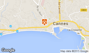 Mapa Cannes Estúdio 70070