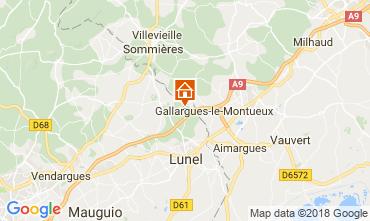 Mapa La Grande Motte Vivenda 113402