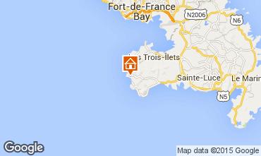 Mapa Anses d'Arlet Apartamentos 27269