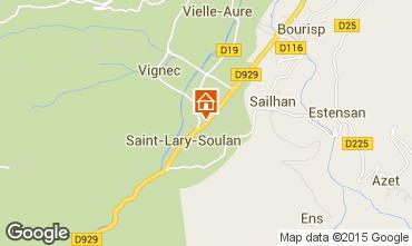 Mapa Saint Lary Soulan Estúdio 80422