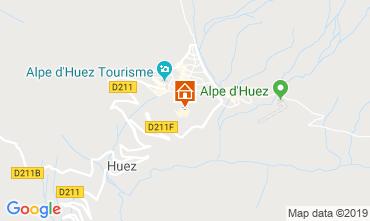 Mapa Alpe d'Huez Apartamentos 117395