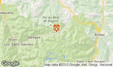 Mapa La Mongie Apartamentos 50729