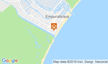 Mapa Empuriabrava Apartamentos 115337