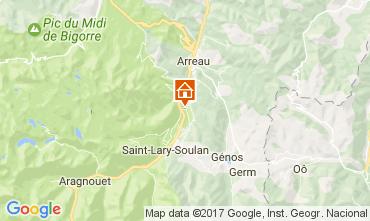 Mapa Saint Lary Soulan Casa 29350