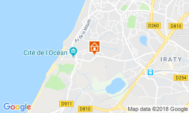 Mapa Biarritz Apartamentos 98622