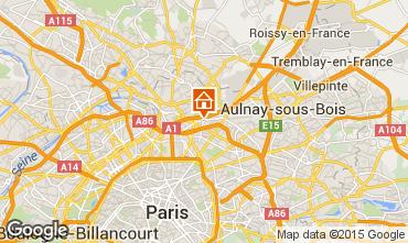 Mapa PARIS Apartamentos 72652