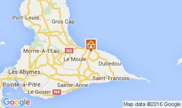 Mapa Le Moule Vivenda 100796